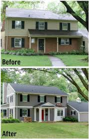 free split entry house remodel before and afte 12744