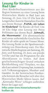 Wetter Bad Laer Petra Pohlmann Www Pohlmann Petra De News Termine Presse