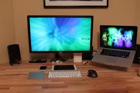 Laptop Desk Setup S Desk Sweet Setups Pinterest Computer Setup Desks