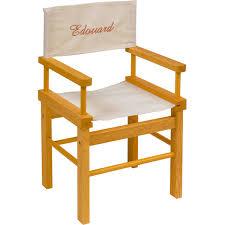 fauteuil realisateur chaise metteur en scène hevea sous la bonne étoile