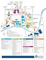 Map Of Kohler Wisconsin by Parking Areas Lawrence University