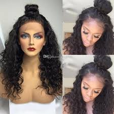 baby hair wave lace human hair wigs with baby hair for black women