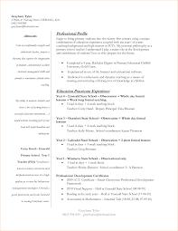 best resume template high student first year teacher