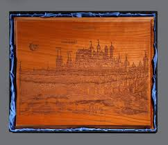 wood plaque cherry wood plaque