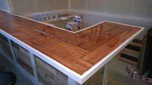 decor diy l shaped wood pallet bar for awesome home bar decoration