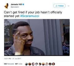Memes Twitter - twitter erupts after anthony scaramucci s ouster as white house