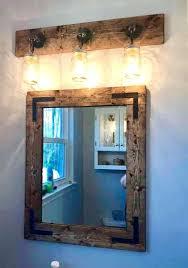 bathroom mirror ideas diy rustic bathroom mirrors mastercomorga com