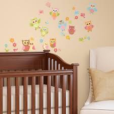 amazon com baby owl wall decals home u0026 kitchen