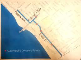 Expo Line Santa Monica Map Santa Monica U0027s First Open Streets Festival Set For June 5 Santa