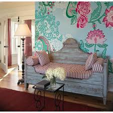komar 145 in w x 98 in h ivory rose wall mural xxl4 007 the paisley rose wall mural