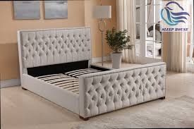 Bedroom Furniture Nunawading Royal Premium Fabric Upholstered Bed Exclusive At Sleep House Mel