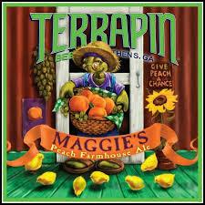 Terrapin Maggie's Peach Farmhouse Ale - thefullpint.