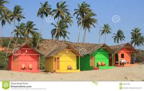 beach houses royalty free stock images image 2556089