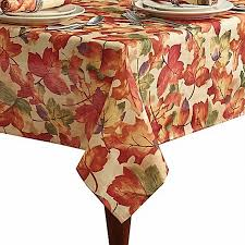 autumn harvest table linens harvest festival autumn leaf tablecloth fabric table cloth 60x102