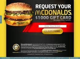 mcdonalds e gift card for offers free mcdonalds gift card