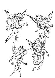 disney fairy coloring free download