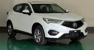 acura jeep acura cdx subcompact crossover caught undisguised u2013 news u2013 car and