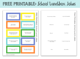 printable kids lunchbox jokes