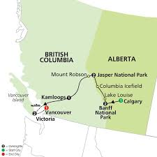 Banff National Park Map Canadian Rockies On A Budget July 22 U2013 Aug 3 2016 U003d 1600