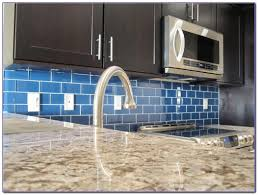 blue subway tile backsplash kitchen tiles home design ideas blue green glass subway tile backsplash