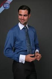 men u0027s two tone indigo striped dress shirt tie u0026 hankie set