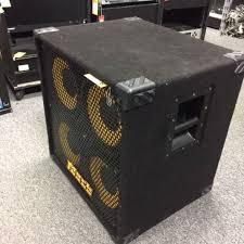 8 ohm bass speaker cabinet used markbass standard 104hr rear ported neo 4x10 bass speaker