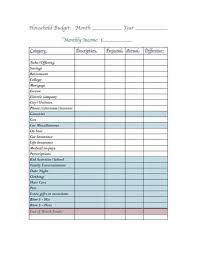 Excel Spreadsheet For Monthly Budget by Dave Ramsey Monthly Budget Worksheet Excel Laobingkaisuo Com