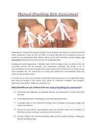 handling risk assessment