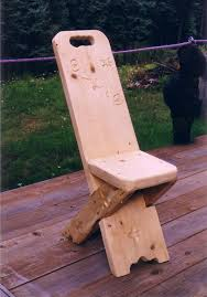this is a simple wooden chair i would like to make it because it
