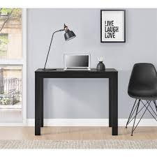 Parsons Computer Desk Mainstays Parsons Desk With Drawer Colors Walmart