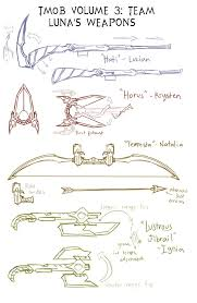 random sketches chap 146 luna alt weapons by lightning in my
