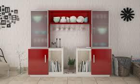 crockery cabinet designs modern crockery unit designs kitchen and dining crockery unit designs