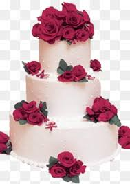 rose cake rose cake bow png image for free download