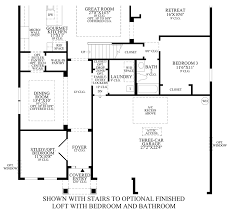 Garage Loft Floor Plans Coastal Oaks At Nocatee Ambassador Collection The Anastasia