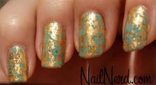 tutorial nail art foil nail nerd nail art for nerds foil
