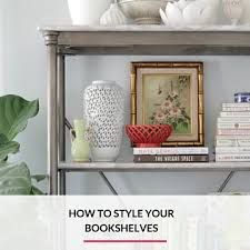 Arrange Bookshelves by How To Style A Bookshelf