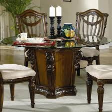 Wooden Round Dining Table Designs Furniture Alluring Distressed 60 Inch Reclaimed Wood Round Dining