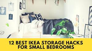 ikea hacks 12 best ikea storage hacks for small bedrooms home