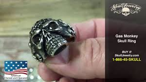 urban skeleton ring holder images Gas monkey skull ring jpg