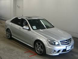 used mercedes c63 amg 2008 mercedes c class c63 amg japanese used cars auction