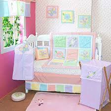 Lavender Butterfly Crib Bedding Butterfly And Flowers 6 Crib Bedding Set 6959448214637 Ebay