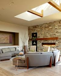 Recessed Wall Niche Decorating Ideas Decorating A Fireplace Mantel Living Room Contemporary With