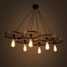 wagon wheel chandeliers for dining rooms large foyer barn rec room