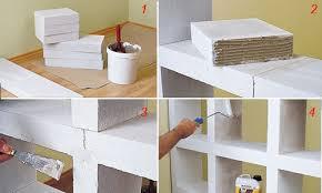 scaffale divisorio costruire uno scaffale di cemento cellulare bricoportale fai da