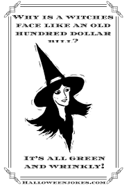 black and white halloween joke cartoon 2 witch black cpal