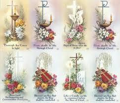 funeral prayer cards repose custom prayer card