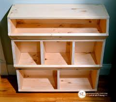 Build Wood Toy Box by Build A Toy Storage Bin Toy Emporium Diy Play Food Organizer