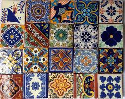 mexican decorative tile with mexican tile high in wall mexican