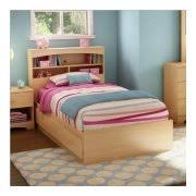 twin bed with bookcase headboards