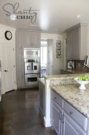 grey cabinets kitchen painted 12 gorgeous and bright light gray kitchens table and hearth